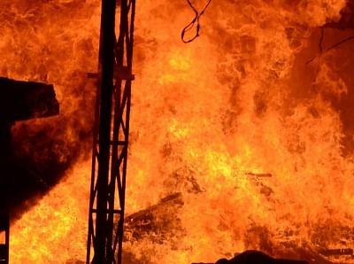 Fire. (File Photo: IANS)