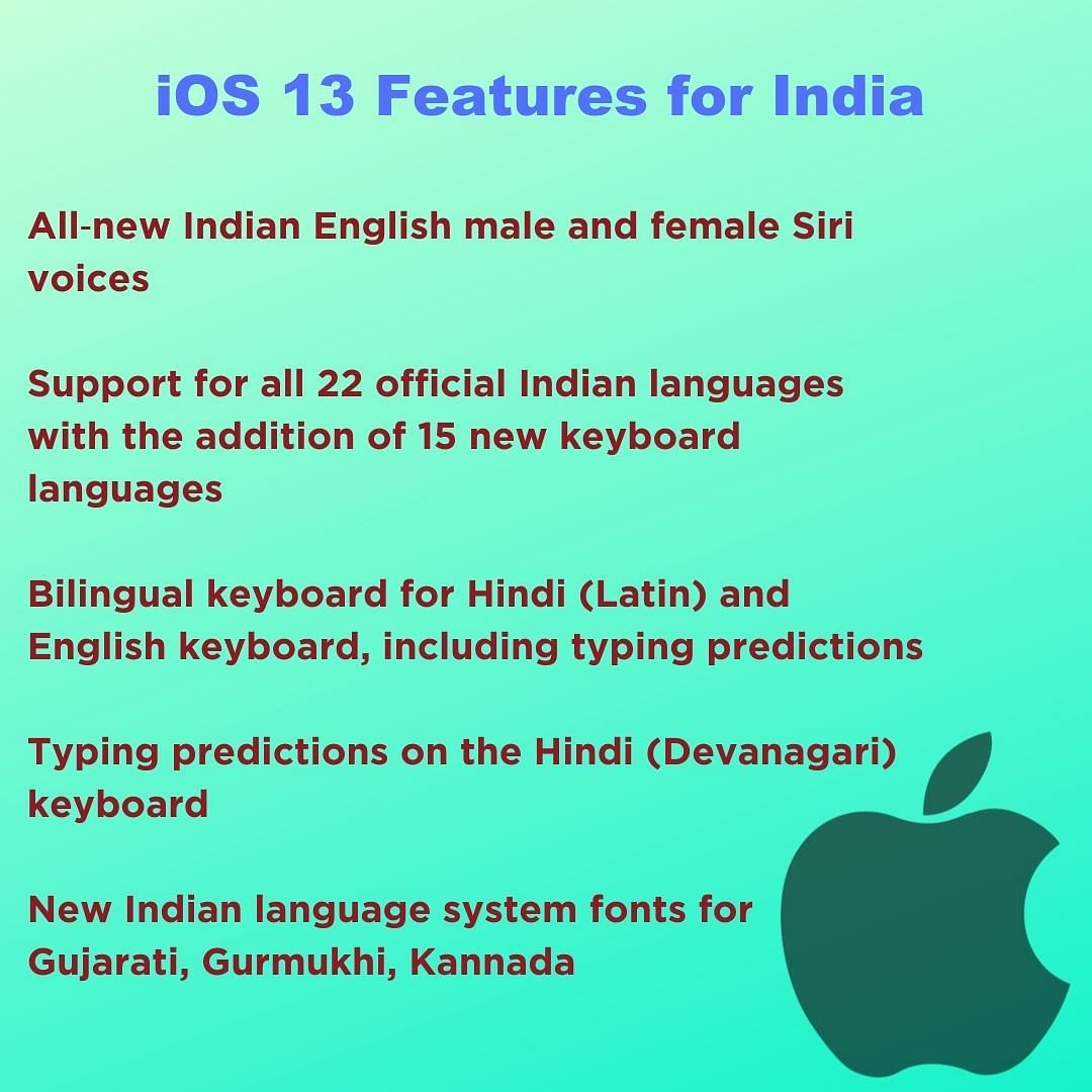 What do iPhone Users in India Get With Apple's iOS 13 Update?