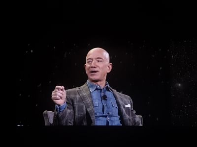 Jeff Bezos. (Photos: IANS)