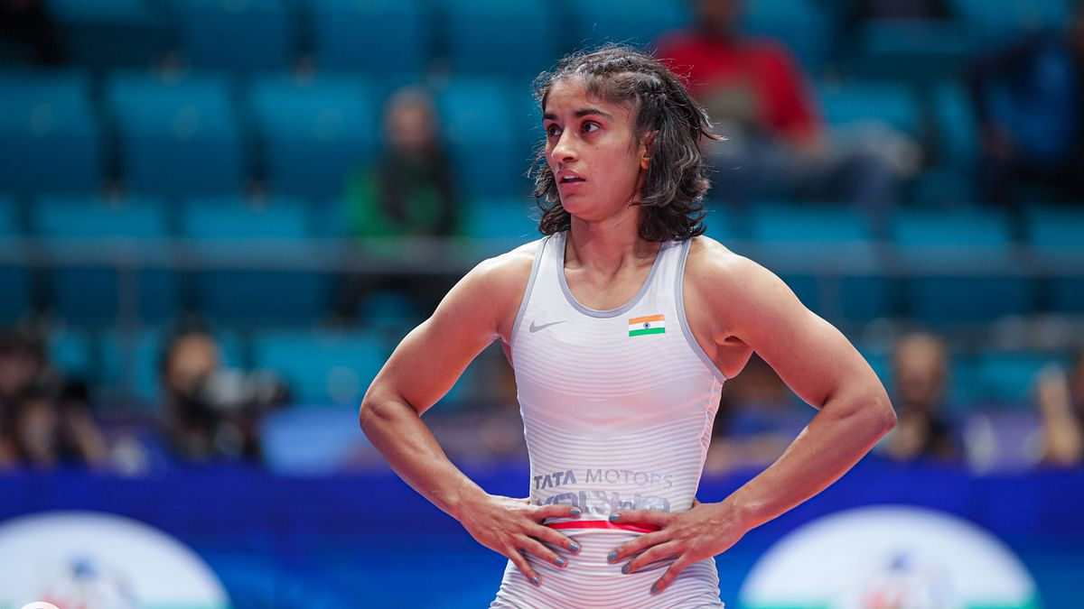 Asian C'ship: Vinesh Loses to Mukaida Again, Will Fight for Bronze