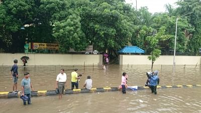 Rainfall in Mumbai has surpassed their annual rainfall quota within four months of the monsoon
