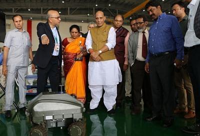 Rajnath opens BEL's innovation centre in Bengaluru