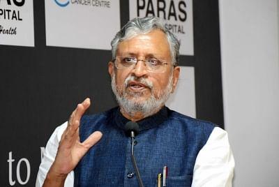 Sushil Modi deletes tweet on Nitish as Bihar CM