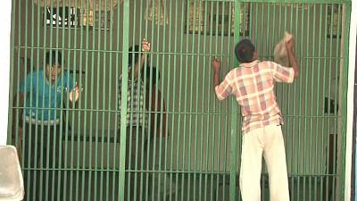 New Delhi: Prisoners in one of the barracks of Tihar Jail, New Delhi. (Photo: Sanjeev Kumar Singh Chauhan/IANS)
