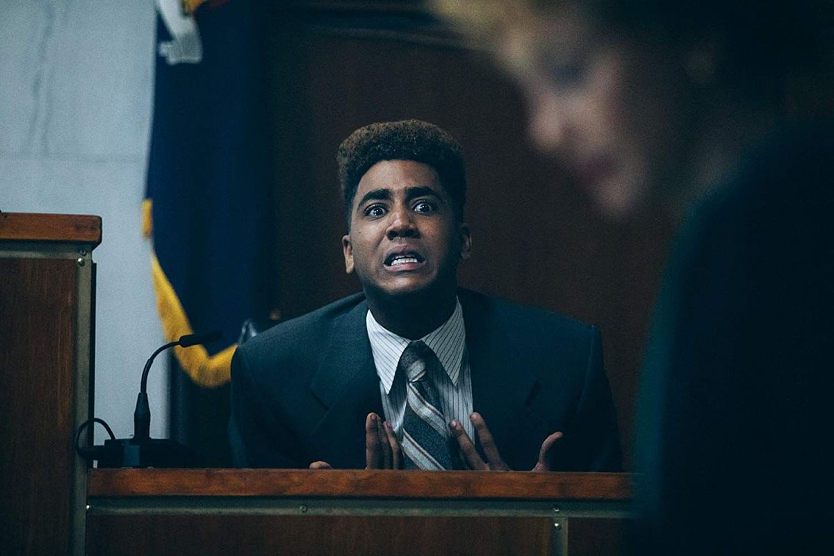 Jharrel Jerome in <i>When They See Us</i>