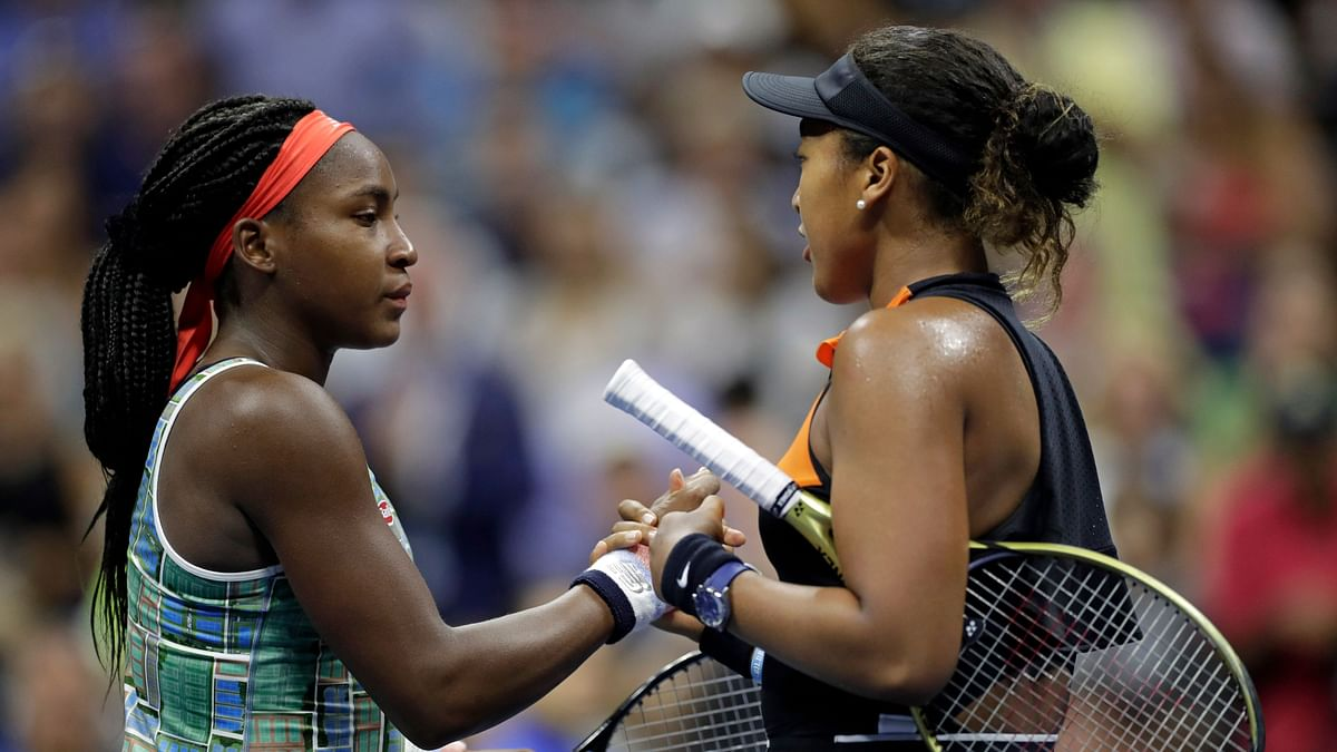 Coco Gauff's US Open run came to an end against defending champion and No. 1 seed Naomi Osaka.