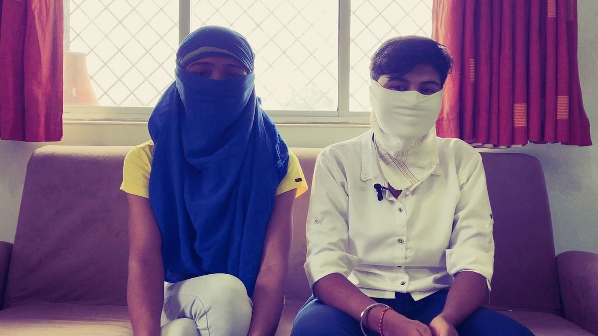 Zehra* and Rashmi* met at a call centre. They eloped when Zehra's family put pressure on her to get married.