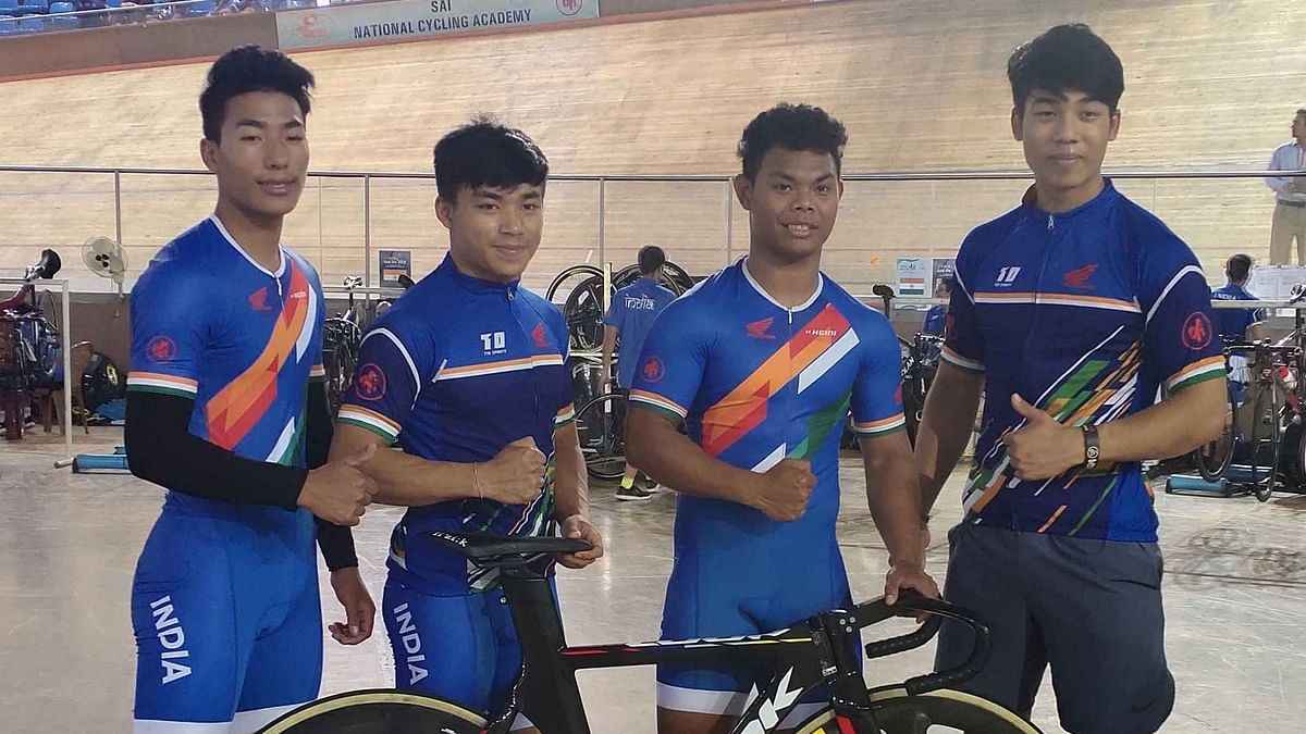 Track Asia Cup: Ronaldo Bags 4th Gold, India Top the Medal Tally