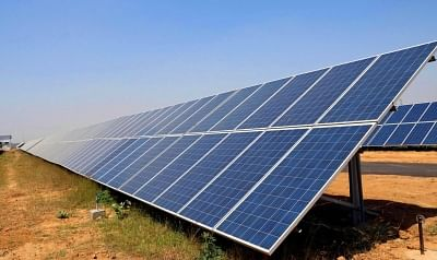 Solar power plant. (File Photo: IANS)