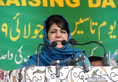 Mehbooba Mufti. (File Photo: IANS)