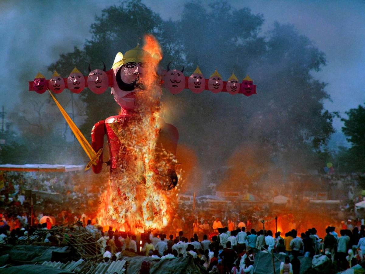 Vijayadashami 2019: Effigy of Ravana is burnt on this day