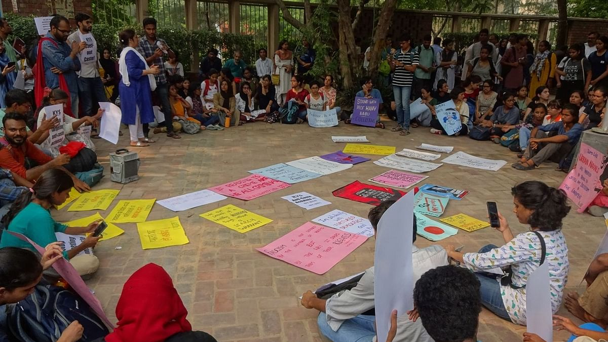 'Harassment': DU Students Condemn Raids at Hany Babu's Residence