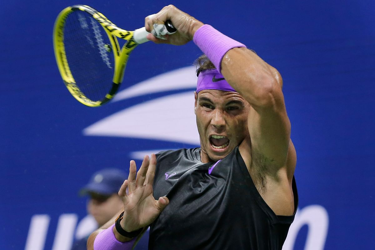 Nadal managed to play his best when it mattered the most against the 20th-seeded Schwartzman.