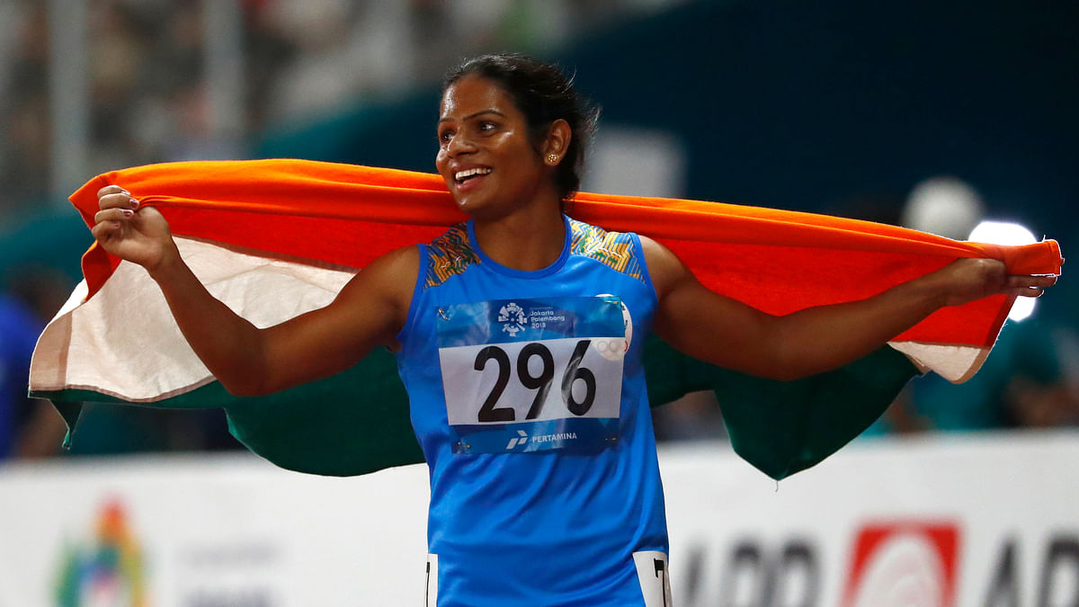 Dutee Chand Makes The Cut! Confirmed to Take Part in World C'ships
