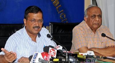 New Delhi: Delhi Chief Minister Arvind Kejriwal addresses a press conference, in New Delhi on Sep 24, 2019. (Photo: IANS)