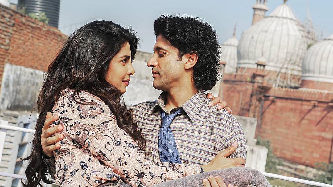 <i>The Sky is Pink </i>stars Priyanka&nbsp; Chopra and Farhan Akhtar.