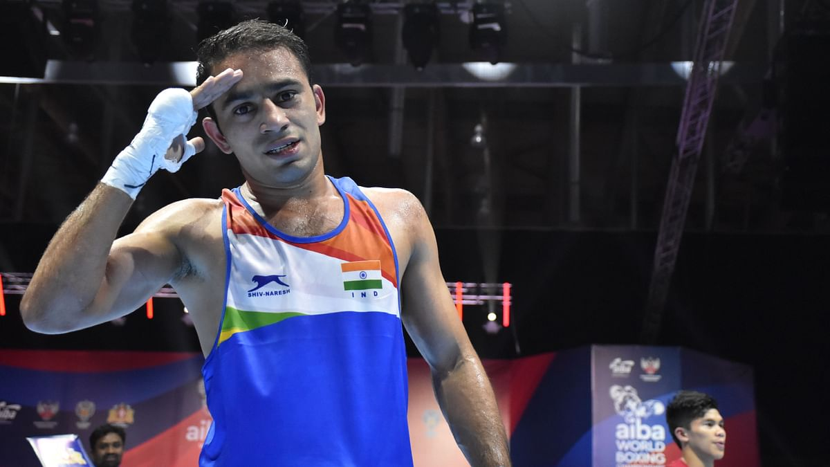Amit Panghal is the first male Indian puglist to reach the final of World Championships.