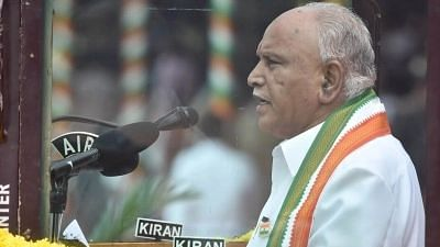 Karnataka Chief Minister BS Yediyurappa.