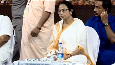 Kolkata: West Bengal Chief Minister Mamata Banerjee during inauguration of Sri Chaitanya Mahaprabhu Museum in Kolkata on Aug 13, 2019. (Photo: IANS)