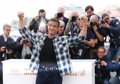 US actor Sylvester Stallone. (Xinhua/Gao Jing/IANS)