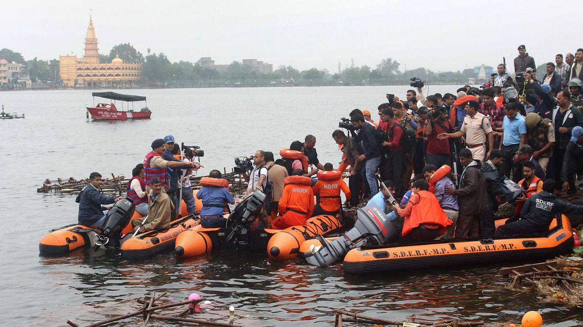 11 Killed  as Boat Capsizes in Bhopal, CM Declares Rs 4L Ex-Gratia