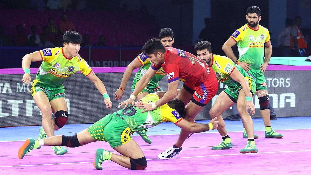 Delhi clinched an All-Out with two minutes left in the match to pull open a lead which their defenders helped maintain.