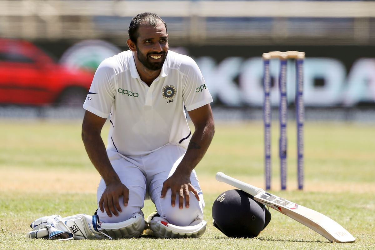 Hanuma Vihari has played all his Test matches outside India and is now eagerly looking forward to the series against South Africa next month.