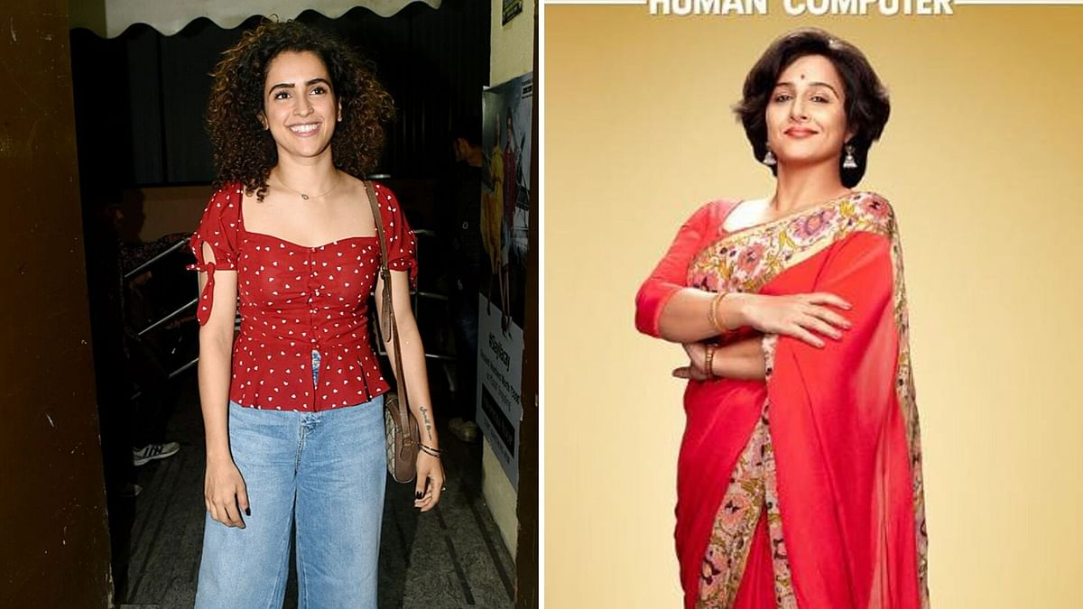 Sanya Malhotra to Play Vidya's Daughter in Shakuntala Devi Biopic