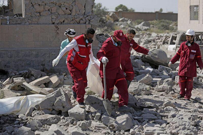 At least 100 killed, 50 injured in Saudi-led air-strikes in Yemen