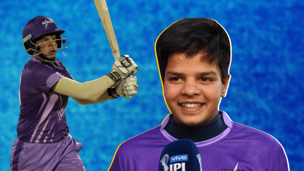 At 15 years 221 days, Shafali is one of the youngest cricketers to make her debut for India.