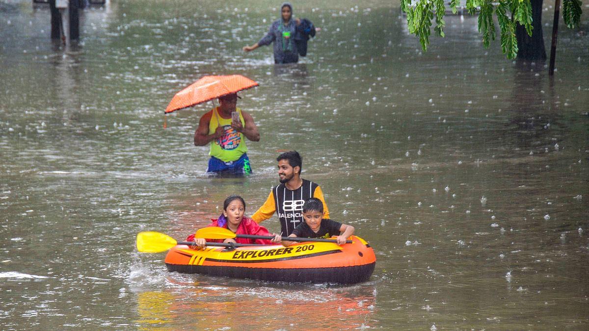 Mumbai Rains: Water Levels Recede; Train Services Restart