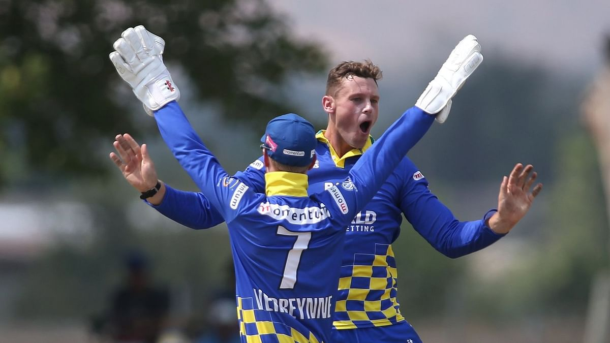 Uncapped left-arm spinner George Linde has been named as replacement for all-rounder Jon-Jon Trevor Smuts.