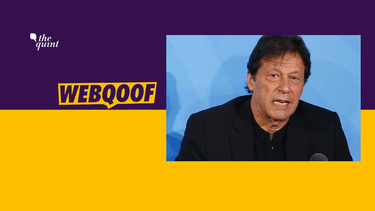 Imran Khan claimed that in the 1980s, former US President Ronald Reagan compared the Afghan mujahideen fighting against Soviet forces to the Founding Fathers of the United States.
