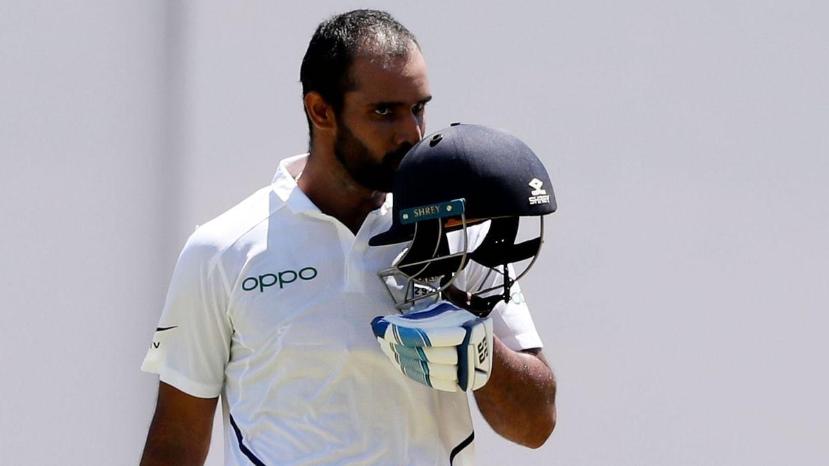 Hanuma Vihari is playing county cricket with Warwickshire.
