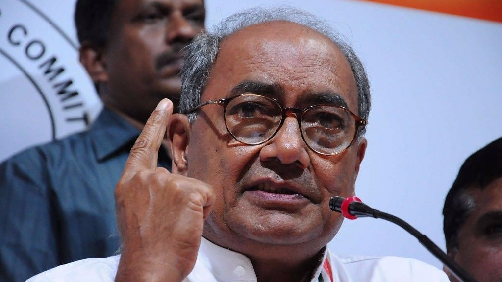 Nitish Kumar Should Quit NDA and Bless Tejashwi: Digvijaya Singh