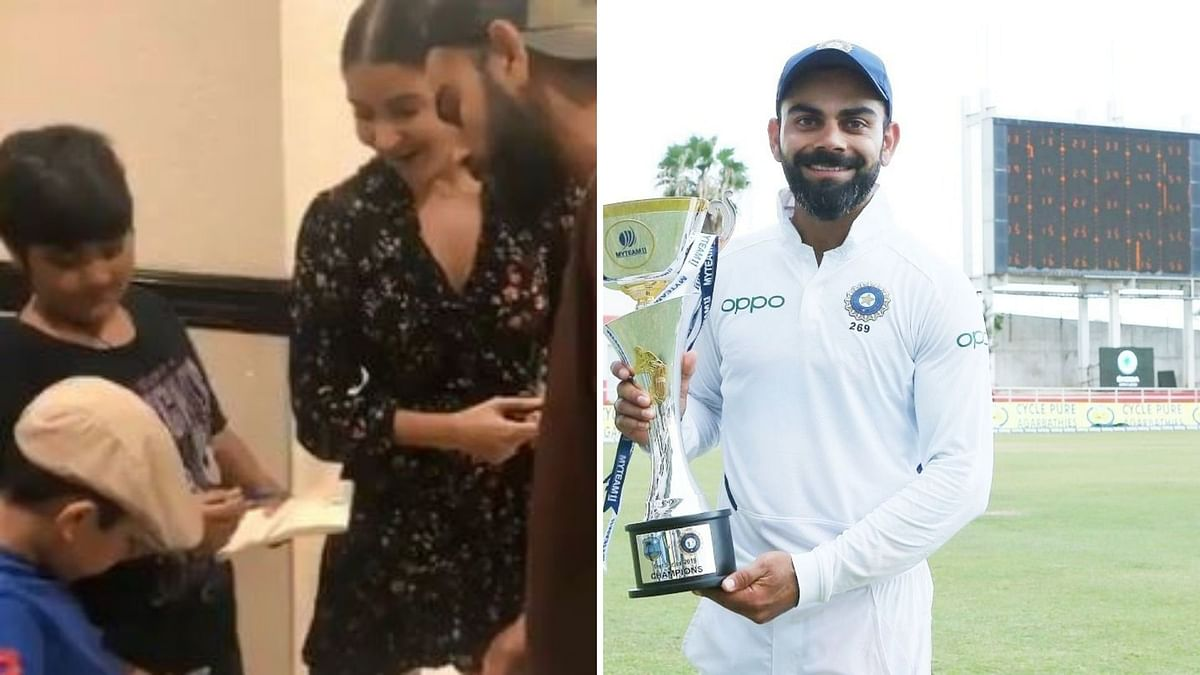 Seven-Yr-Old Gives Autograph to Virat Kohli & Fans Can't Handle it