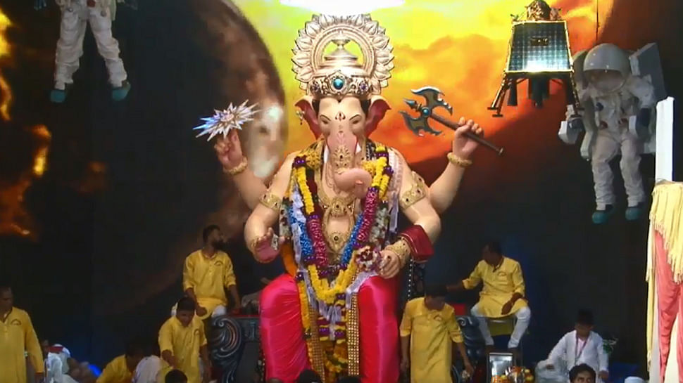 Lalbaughcha Raja idol this year.
