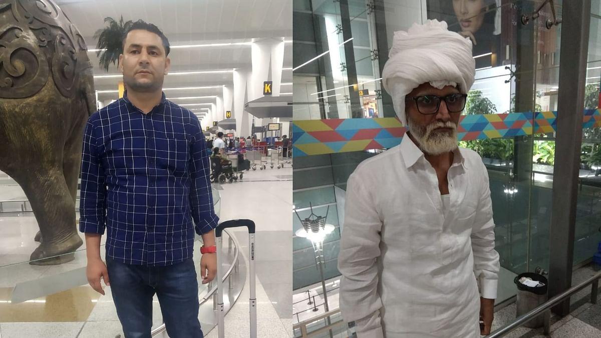Man Held At Delhi Airport For Disguising As Senior Citizen