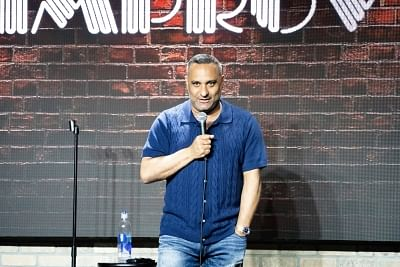 Indo-Canadian comedian Russell Peters