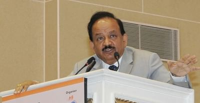Union Minister Dr. Harsh Vardhan. (Photo: IANS)