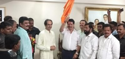 Former 'encounter cop' Pradeep Sharma joins Shiv Sena