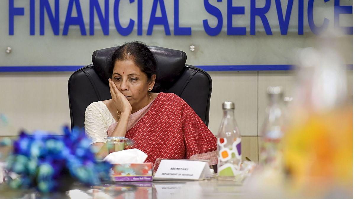 Finance Minister Nirmala Sitharaman.