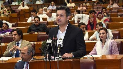Muhammad Hammad Azhar (front). (Xinhua/PID/IANS)