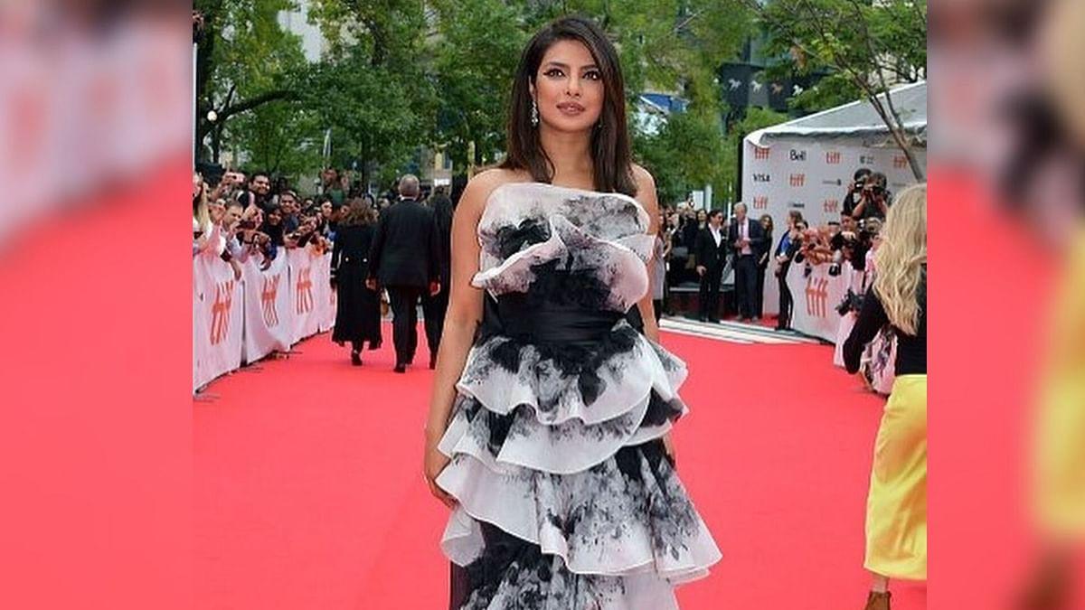 Priyanka Gets Teary-Eyed at 'The Sky Is Pink' TIFF Premiere