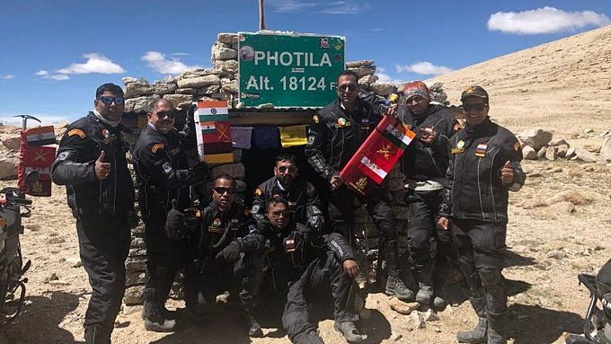 Indian Army's 8-Member Expedition Scales Eight Highest Passes