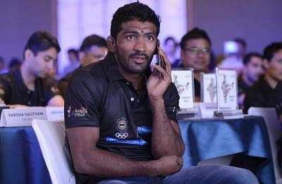 Indian wrestler Yogeshwar Dutt. (Photo: IANS)