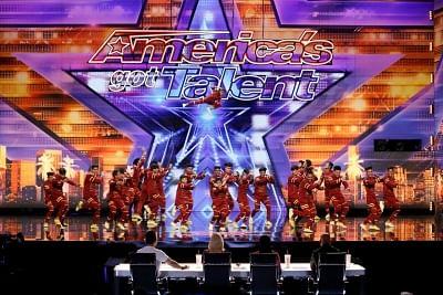The Mumbai-based dance group V Unbeatable.