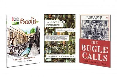 Book - The Bugle Calls; Delhi Heritage; The Juvenile Immigrant