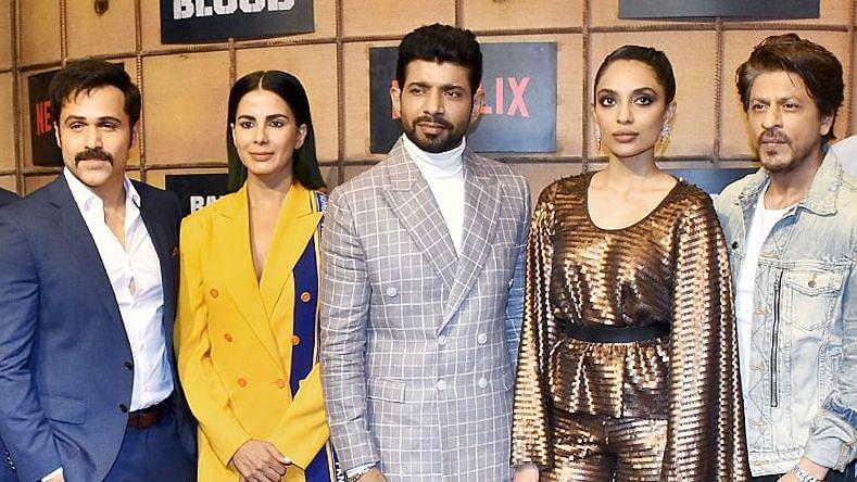 Pics: SRK, Emraan, Sobhita & More at 'Bard of Blood' Premiere