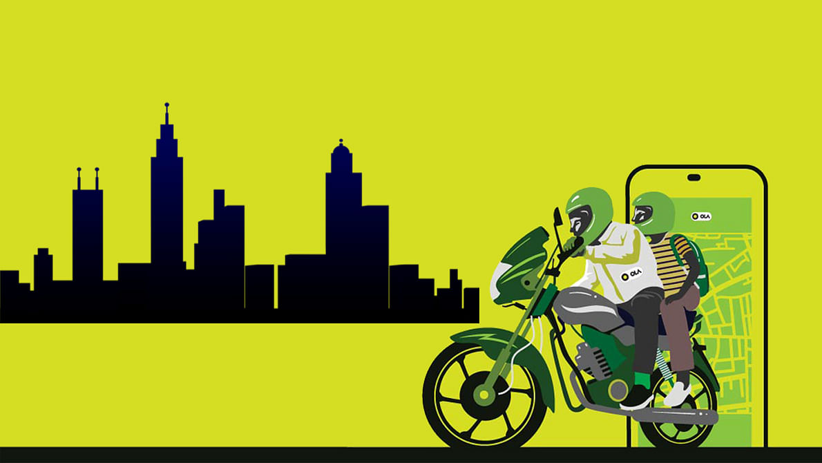 Ola Takes on Uber With Bike Taxi, Now Available in Over 150 Cities